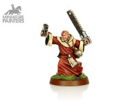 SILVER Preacher with Chainsword