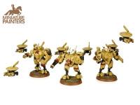BRONZE XV8 Crisis Battlesuit Team