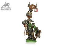 SILVER Nob with Waaagh Banner