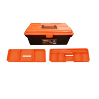 38 cm - 15 Inch Plastic Tool Box With 2 Trays  TTX-320105B