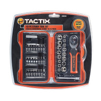 Ratchet Stubby Driver And Bits 43 Piece Set TTX-900236