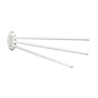 Isolde (Towel Holder) 3 Arm - White - AWR-293-WHITE