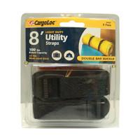 2Pc 8' Ld Utility Straps - CGL-84047