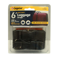 2Pc 6' Ld Luggage Straps - CGL-84048