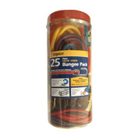 25Pc Color Coded Bungee Pk - CGL-84076