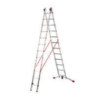 ProfiLot - Aluminium Multi-Purpose 2x12 Rungs Ladder