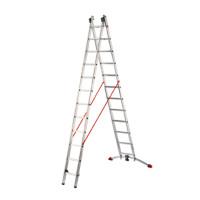 ProfiLot - Aluminium Multi-Purpose 2x12 Rungs Ladder