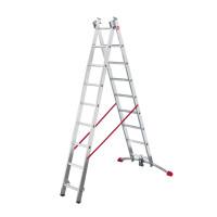 ProfiLot - Aluminium Multi-Purpose 2x19 Rungs Ladder