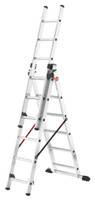 ProfiStep Combi - Aluminium Combination 3x6 Rungs Ladder