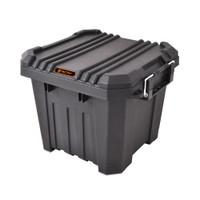 30 Litre - Heavy Duty Storage Box - 40.8 W x 38.3 D x 32.5 H cm - Black