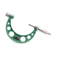 Outside Micrometer With Interchangeable Anvils - Range 0-100mm - ISZ-3206-100A