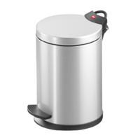 Pedal Bin T2 S - 4 Litre - Silver - HLO-0704-119