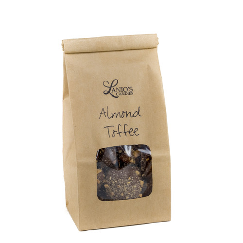 Almond Toffee Kraft Bag