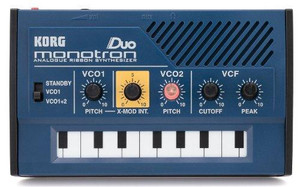 KORG monotron DUO Analog Ribbon Synthesizer