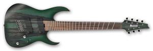 Ibanez Electric Guitar RGIM7BC Iron Label DFF (Deep Forest Burst Flat)