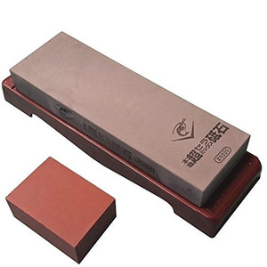 Naniwa Chosera SS-5000 Whetstone with Base - Ships from USA