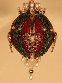 """Handmade Christmas Ornaments """"Gwynneth"""""""