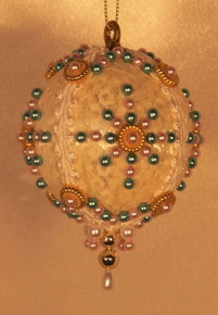 "Handmade Christmas Ornaments ""Carousel"" (Victorian)"