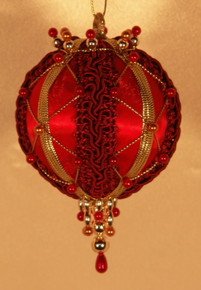 "Handmade Christmas Ornaments ""Brandy"""