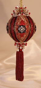 """Gift Boxed Heirloom Ornaments - Ornamentia Line - Sassy Lady Collection - """"Lady Jean"""""""