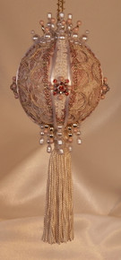 "Gift Boxed Heirloom Ornaments - Ornamentia Line - 2011 White Dove Collection ""Sarah Rose"""