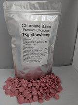 Chocolate Barns Premium Strawberry Chocolate 1KG