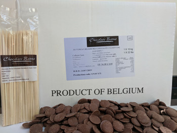 10KG MILK CHOCOLATE FOUNTAIN READY + 100 FREE SKEWERS