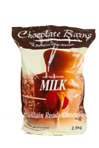 Chocolate Barns Fountain Ready Milk Chocolate 2.5Kg + 100 Free Skewers