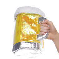 Beer Stein Purse O/S Gold