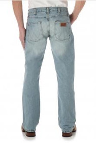 Wrangler Men's Retro Slim Fit Blue Frost Jean