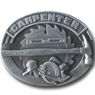Carpenter Pewter Belt Buckle