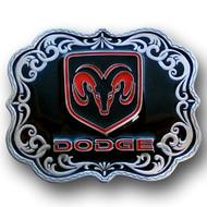Dodge Enamel Belt Buckle
