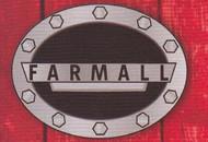 Black Farmall  Oval Belt Buckle