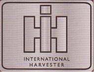 International Harvester Pewter Belt Buckle