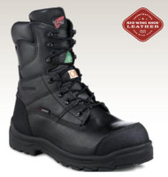 "Men's Red Wing 8"" Black Waterproof CSA Work Boot"
