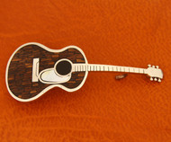 Ironwood Acoustic Guitar Belt Buckle