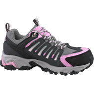 Women's Wolverine Gazelle Grey and Pink Safety Shoe