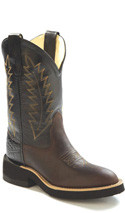 Old West Kid's Roper Western Boot