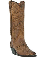 Women's Dan Post Tan Sidewinder Western Boot