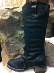 Women's Martino Mael Black Lace Front Winter Boot