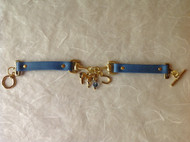 Horse bit charm bracelet