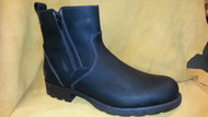 Men's Martino Black Winter Boot with Double Zippers *Made in Canada*