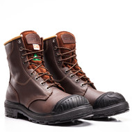 "Men's Royer 8"" 2126XP CSA Safety Boot with Rubber Toe Cap FREE SHIPPING"