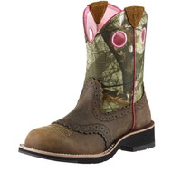 Women's Ariat Fatbaby Cowgirl Camo Boot