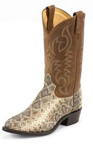 Men's Tony Lama Rattlesnake Western Boot