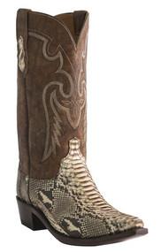 Men's Lucchese Python Chayton Western Boot