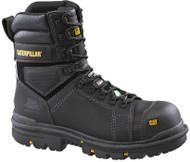 "Men's CAT 8"" Hauler Composite Black CSA Safety Boot"