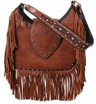 Double J Saddlery Brandy Pull-Up Hobo Bag