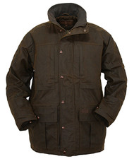 "Outback Trading ""Deer Hunter"" Oilskin Coat"
