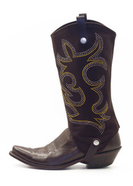 BootRoxx Cowgirl Brown-Gold Boot Cover